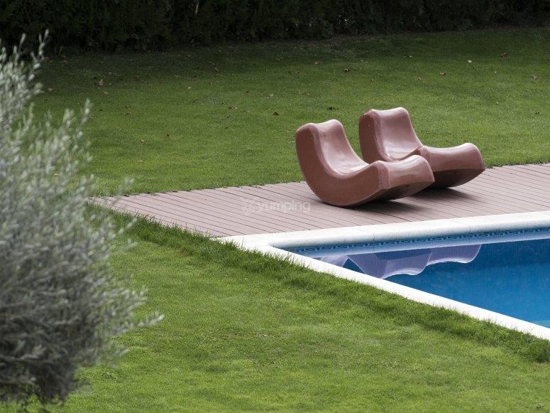 Zonas verdes para descansar