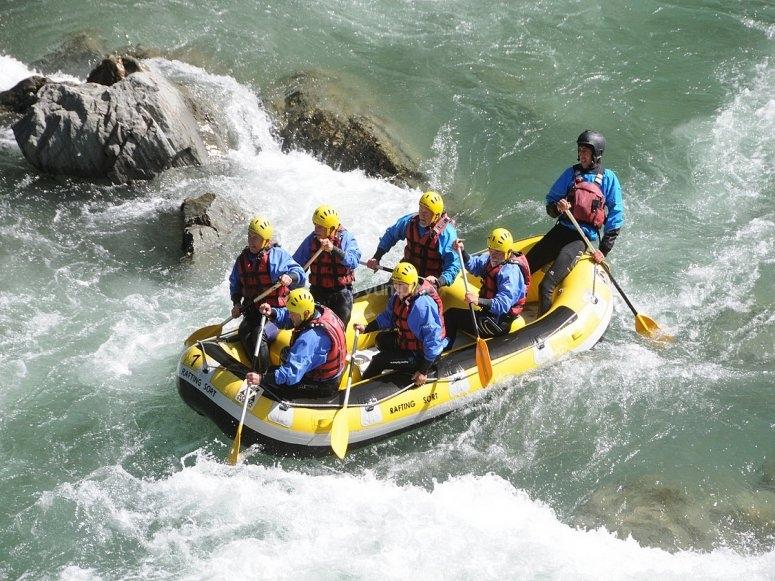 Rafting en Llavorsí