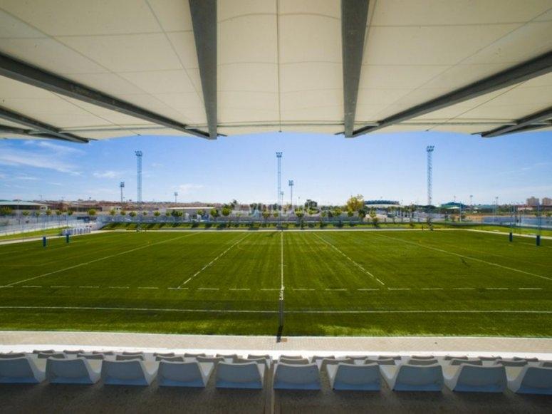 Los campos de la ciudad deportiva de Torrevieja