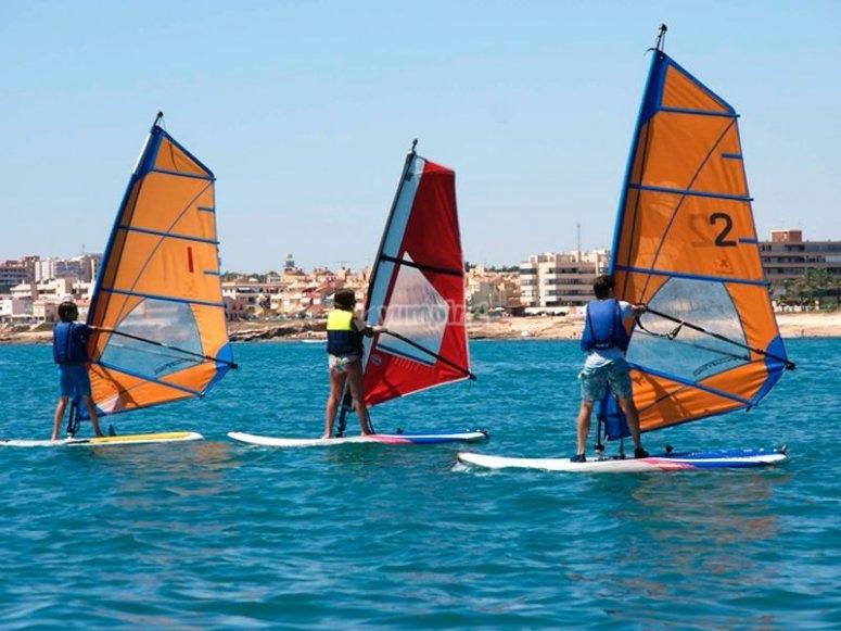 Windsurf a Torrevieja
