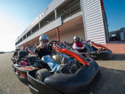 Karting Grand Prix in Talavera la Real 30 mins