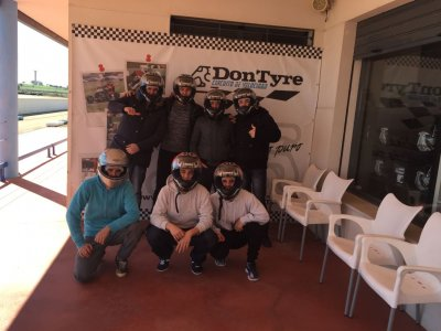 Carrera de karts en Talavera la Real 30 minutos