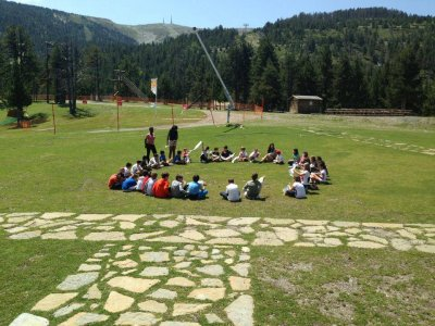 Cercedilla的英语营地为期2周