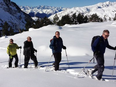 Snowshoeing tour in Aran Valley