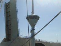 Puente y Torre de Control sobre el Canal del Estacio Mar Menor