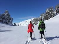 Raquetas de nieve Valle de Arán jornada completa