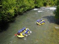 Rafting con Amici