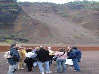 Grupo en el volcán