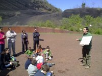 Actividad en el volcán