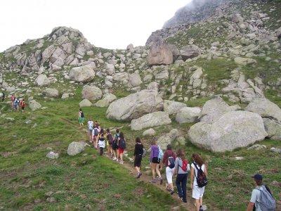 Campamento de verano en ruta por los Pirineos