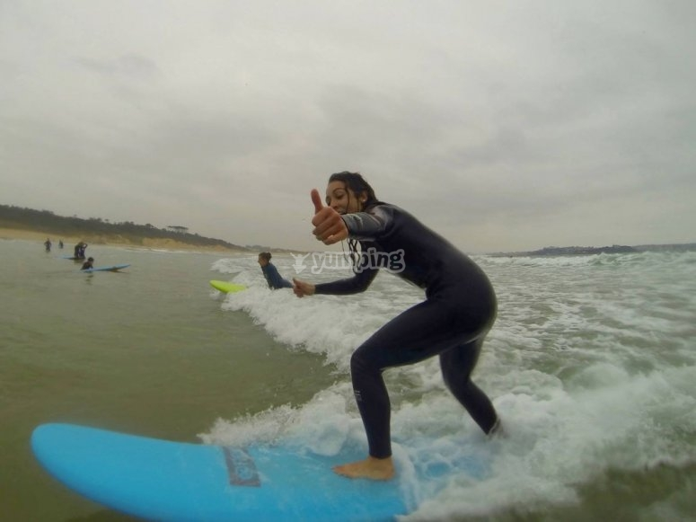 Como mola surcar la ola