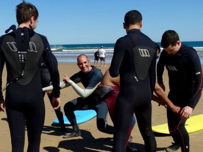 surfing course, weekend, Somo