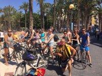 Verso il lungomare in bici