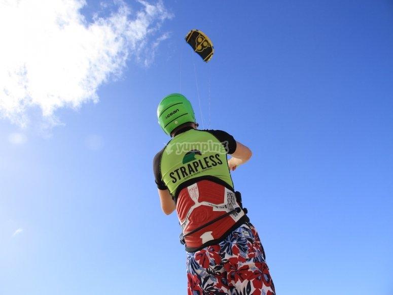 学习如何控制风筝