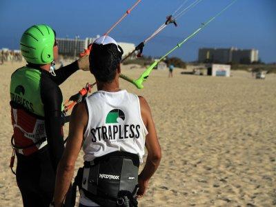 风筝冲浪课程4天富埃特文图拉