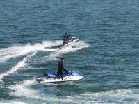 Calpe en moto de agua