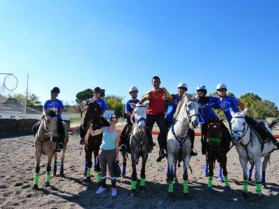 Horseriding in Guadarrama Park