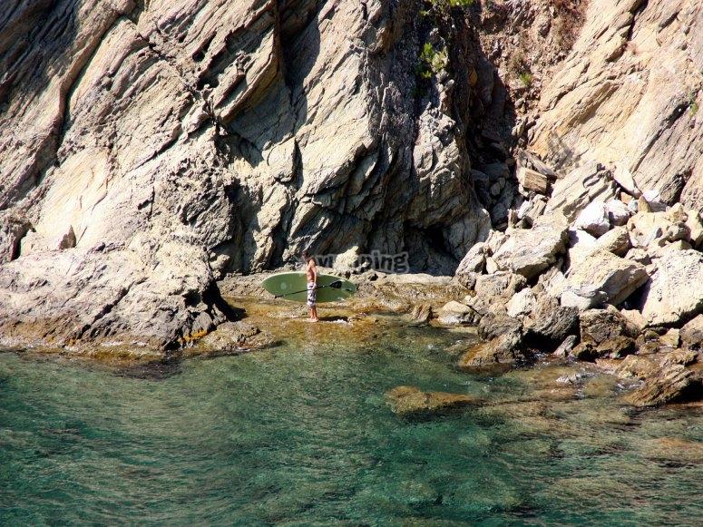 Small bay Norfeu views