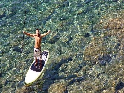 划桨冲浪路线在Cap Norfeu 2小时