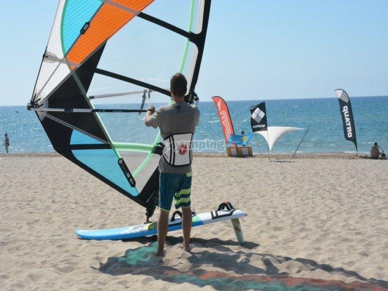 Windsurf harness