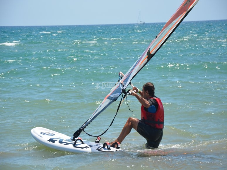 Windsurf techniques