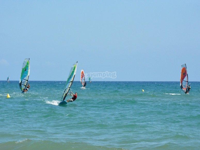 Windsurf offshore