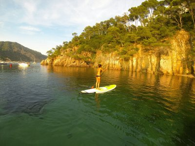 Paddlesurfing in Calas de Pals and Begur 2h