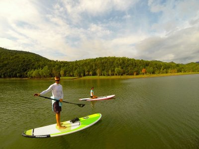 2 hour paddle surf in Portlligat.