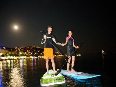 划桨冲浪Luna LLena的夜晚2小时