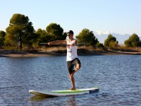 Paddlesurfing +Yoga in Girona, Costa Brava 90m