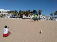 学习kitesurf