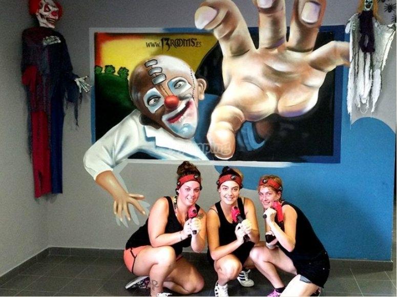 Los angeles de clowny