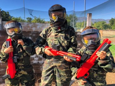 Paintball kids in Málaga