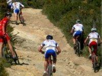 Bicicleta de montaña en Calpe