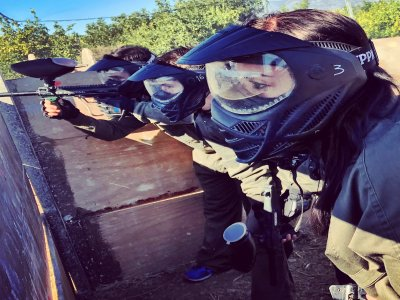 Paintball entre semana en Málaga