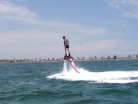 Trying the flyboard for the first time