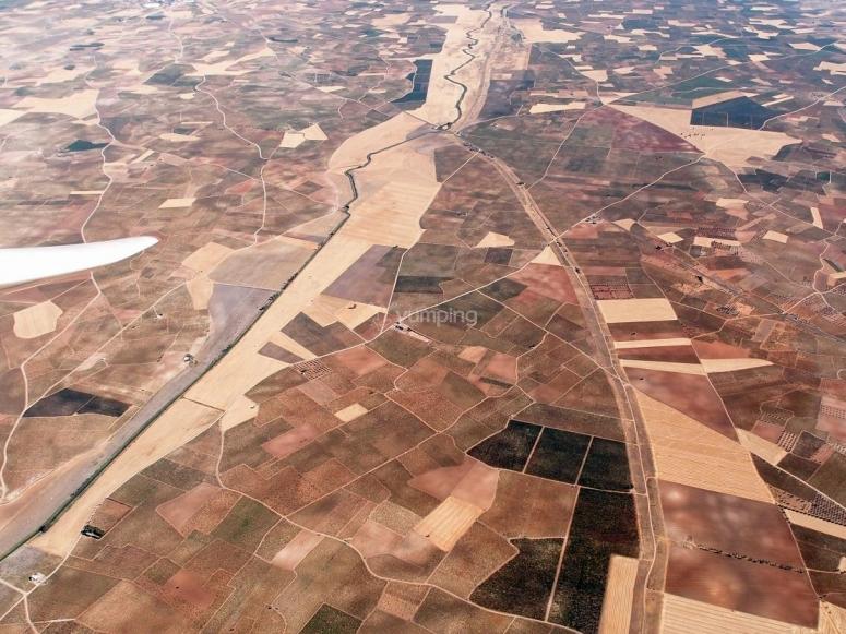 vista desde la avioneta