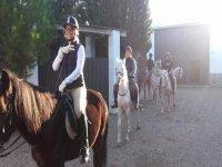Excursión a caballo por la Ribera del ebro