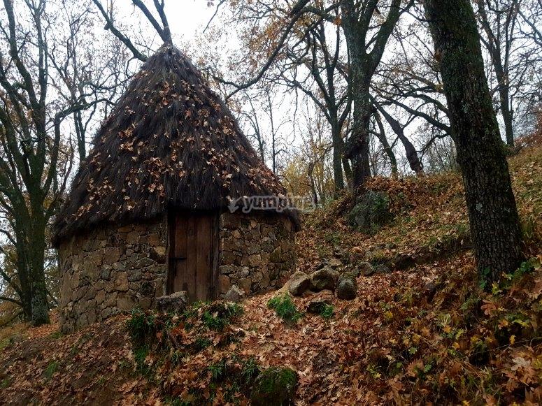 Hut in the Sierra de Gredos