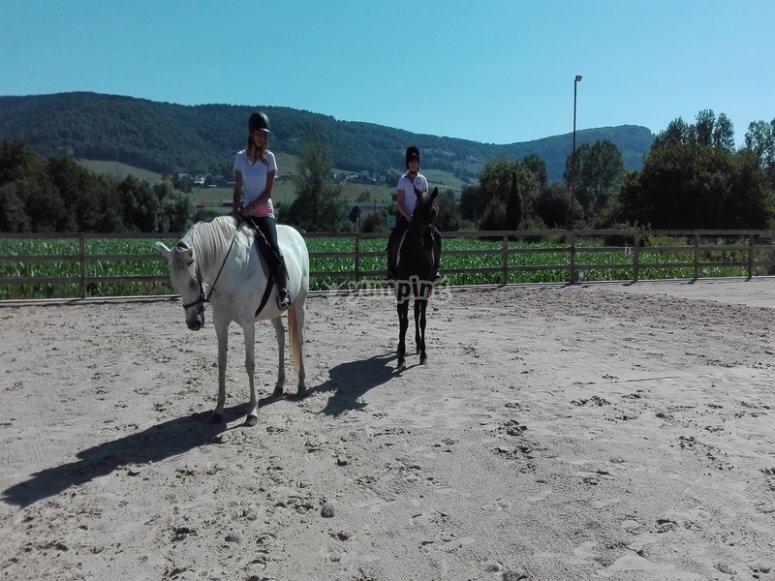 Clase a caballo