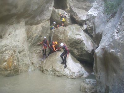Canyoning in Ripollés or Berguedá for Groups