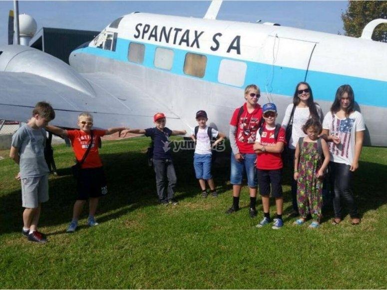 Excursión al museo de aviación