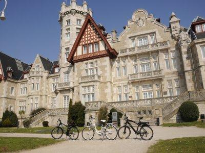 Tour panoramico della bici elettrica Santander