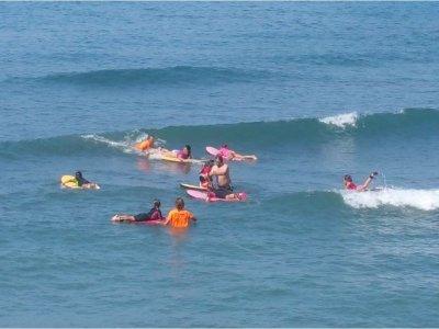 Curso básico de Surf en Málaga 2 horas