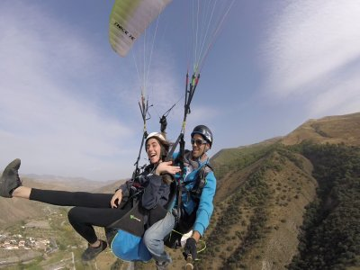Paragliding 2 Flights + HD Video in Granada