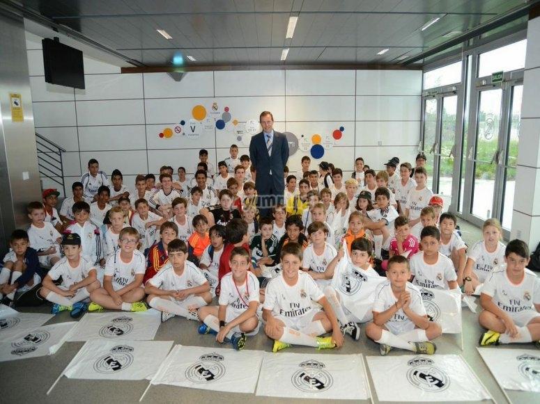 Alumnos Campus Real Madrid Campus de F�tbol