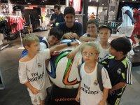 En la tienda del Real Madrid