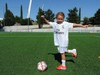 Joven futbolista
