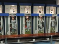 Vestuarios del Real Madrid