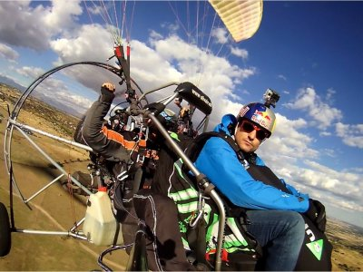 30 minutes tandem trike flight in Jaén